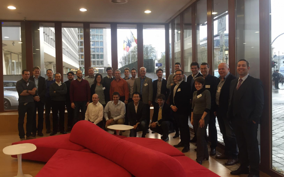 The kick-off meeting of PreCoM was held in Brussels